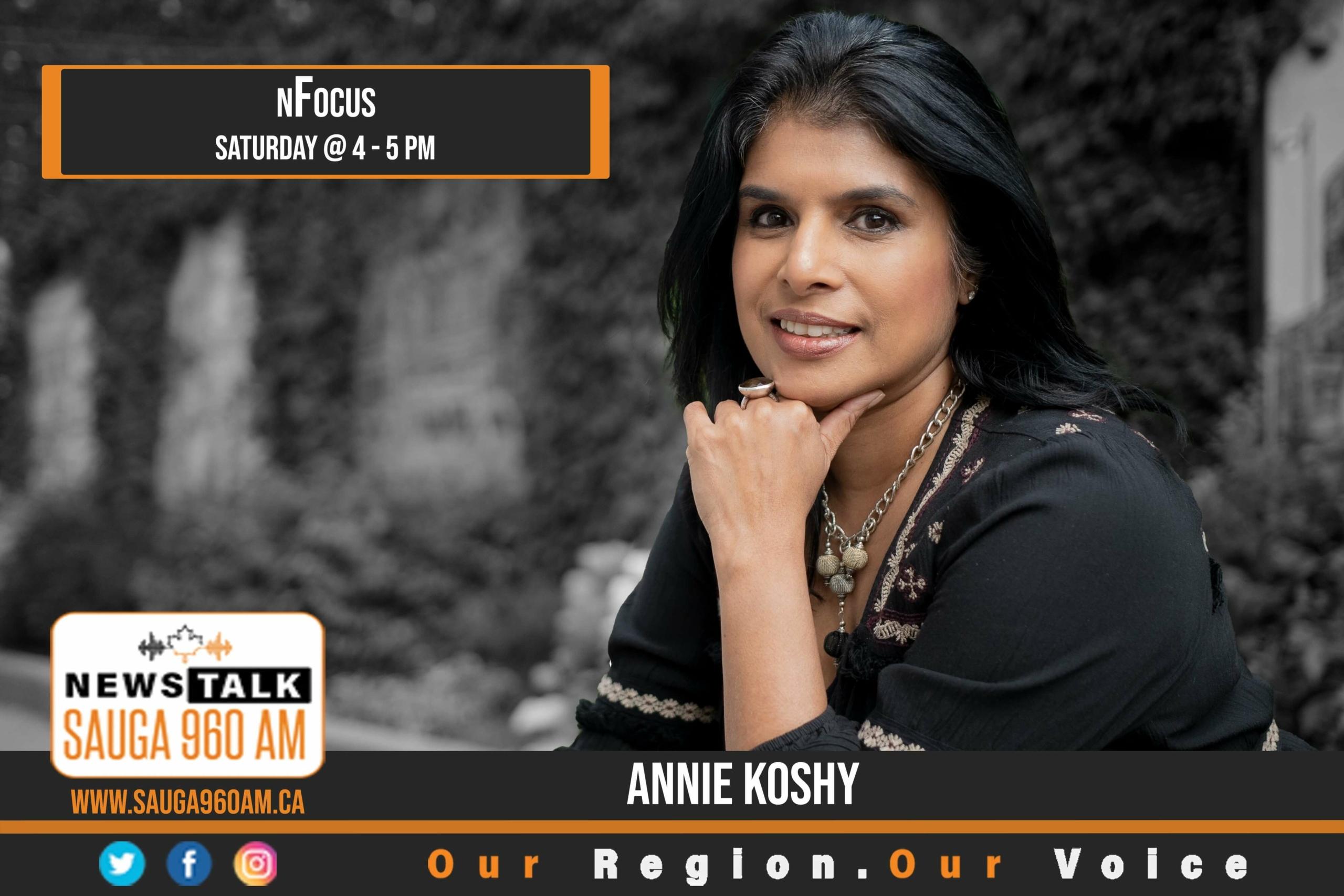 nFocus with Annie Koshy